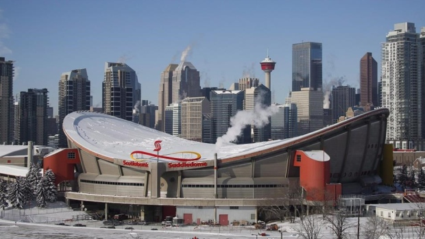 Saddledome Flames