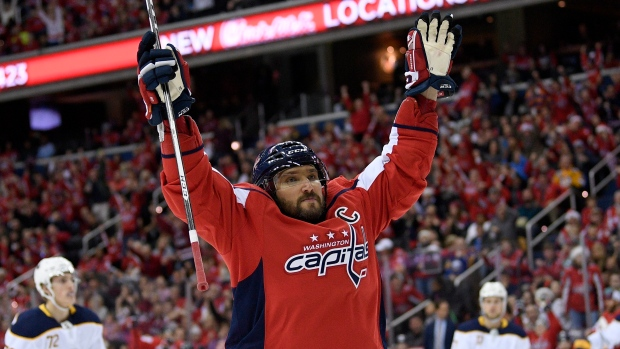 e1266b40a76 ... will sit one game. The Canadian Press. Alex Ovechkin