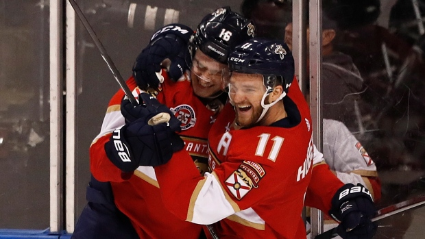Barkov completes hat trick in OT to lead Panthers past Leafs - TSN.ca 338dbedd8