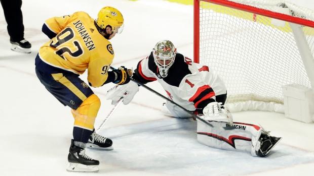 Johansen Gets Shootout Winner, Predators Beat Devils