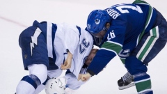 Canucks Tampa Bay Roussel