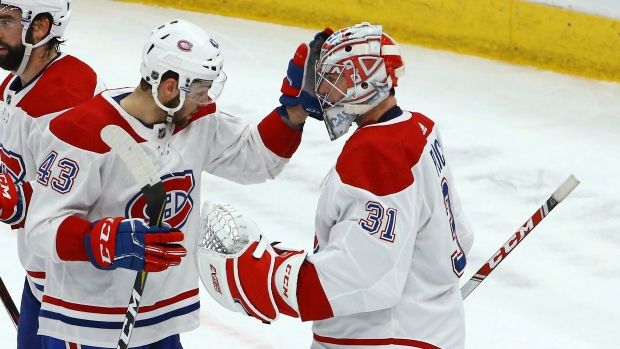 Carey Price and Michael Chaput