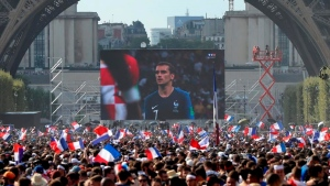 FIFA: 3.5 billion people watched World Cup