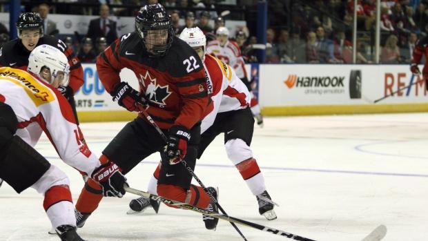 Alexis Lafreniere highlights World Junior development roster