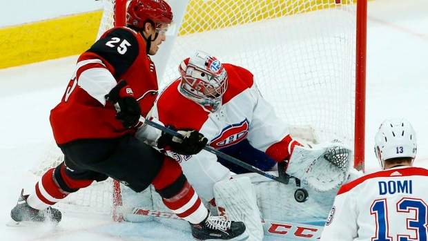 bef28c8389e Price gets 300th win as Canadiens beat Coyotes 2-1 Article Image 0