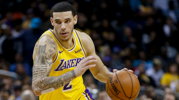 375851fb3b2 Lakers  Ball (ankle) to miss 4-6 weeks - TSN.ca