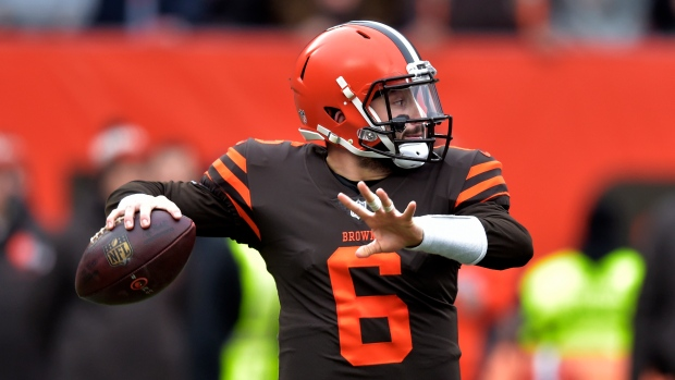 3e7d24545 Mayfield throws three TD passes as Browns down Bengals - TSN.ca