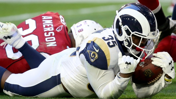 471ea0be Anderson rushes for 167 yards to power Rams past Cardinals - TSN.ca