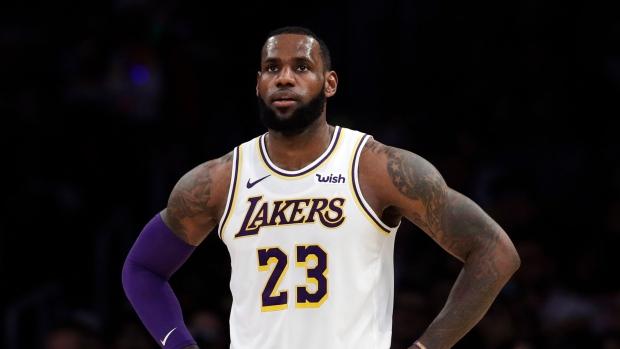 b31a155eb7c Lakers shut down LeBron for rest of season - TSN.ca