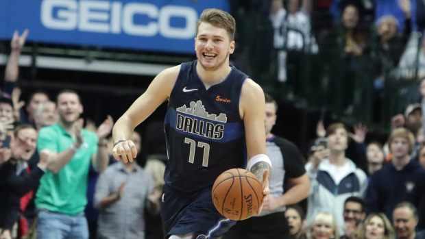 Luka Doncic falls 1 rebound short of National Basketball Association triple-double milestone