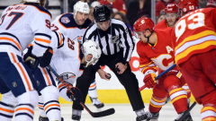 Oilers vs. Flames