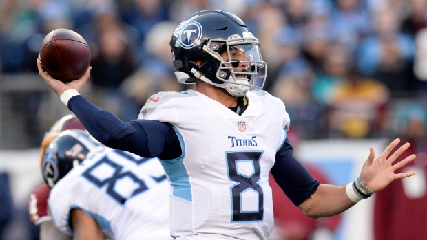 5e0bc653 Mariota limited in return to practice for Titans - TSN.ca