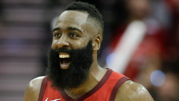 Harden's 45 lead Rockets in 127-113 win over Celtics