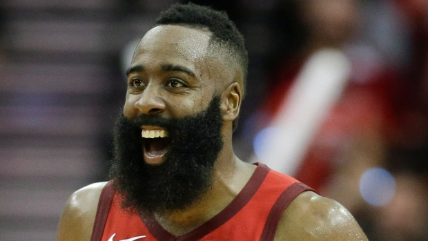 James Harden (calf) starting for Rockets on Thursday night
