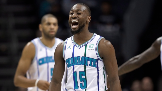 afad75243378 Walker expects  crazy  reaction as All-Star starter at home. The Canadian  Press. Kemba Walker