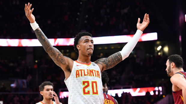 John Collins apologizes, plans to appeal 25-game suspension