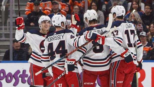 77efbbbcfff Lemieux scores twice as Jets earn win over Oilers - TSN.ca