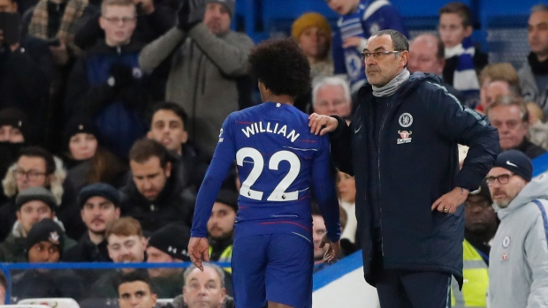 Maurizio Sarri delivers Chelsea FC injury update ahead of FA Cup clash