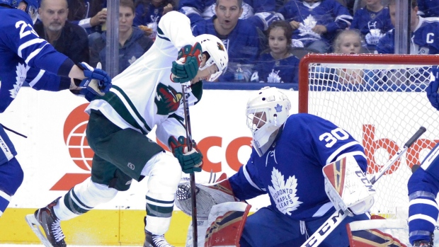 Maples Leafs place Andersen on IR, Sparks also hurt