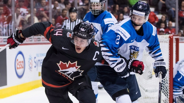 befd05a77fb Comtois played WJC with separated shoulder - TSN.ca