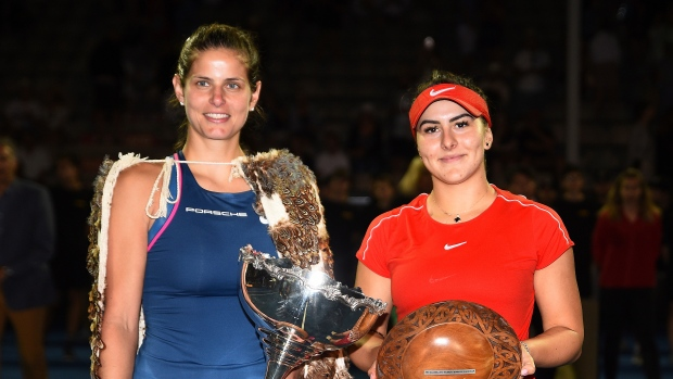 Julia Goerges makes tennis history at ASB Classic