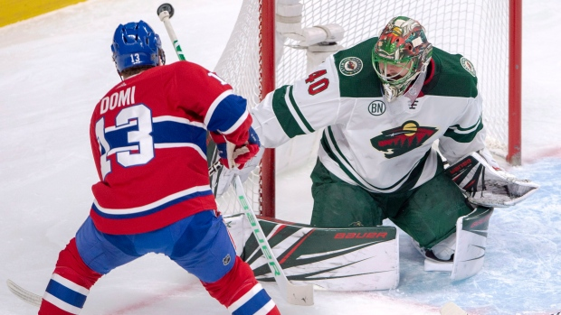 online store 52490 2db79 Dubnyk outduels Price as Wild edge Canadiens - TSN.ca