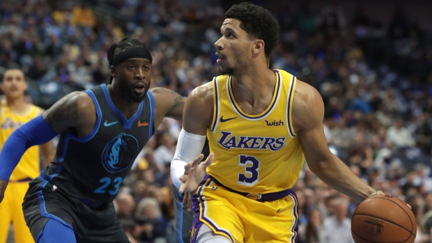 049556ceec7 Lakers  Hart out for remainder of season with knee injury - TSN.ca