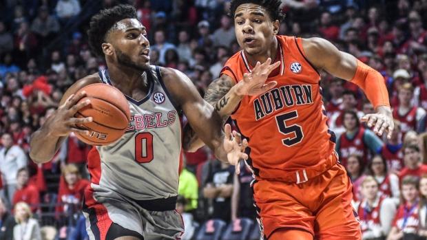 Auburn Forward Okeke Declares For Nba Draft Tsn Ca