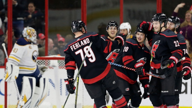 Sebastian-aho-and-hurricanes-celebrate