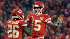 Patrick Mahomes Damien Williams
