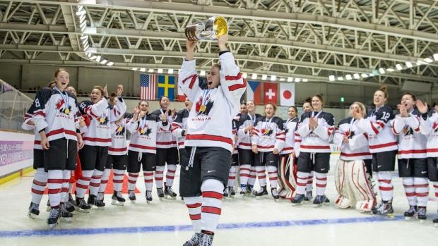 5b26f628bc8 Women - Canada Defeats U.S. To Win Gold At Women's U18s
