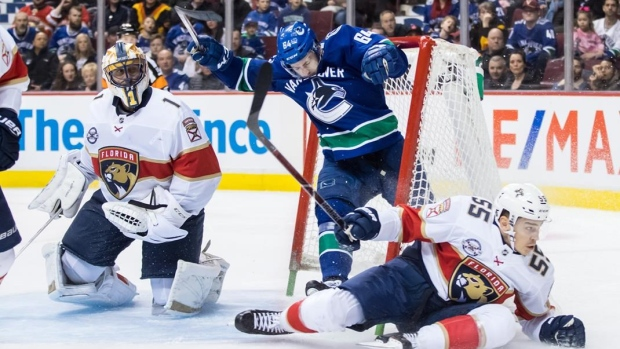 Loui Eriksson posts three points in Canucks' 5-1 win over Panthers Article Image 0