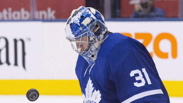 timeless design 33b0c 926a2 Andersen returns for Maple Leafs against Avalanche - TSN.ca