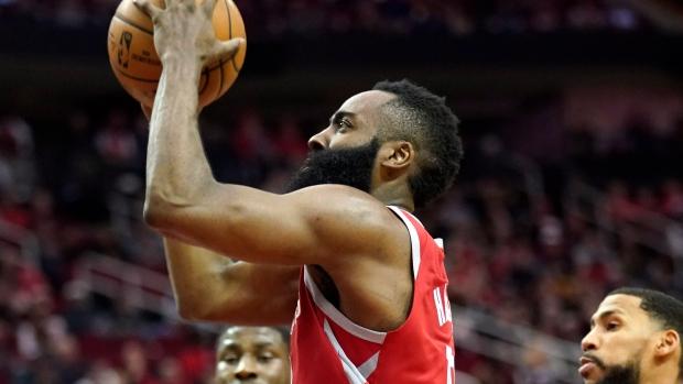 6168a13e8932 Harden drops 57 to lift Rockets over Grizzlies - TSN.ca