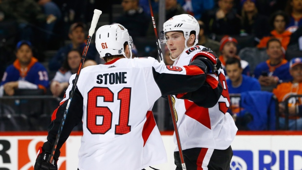 Matt Duchene and Mark Stone