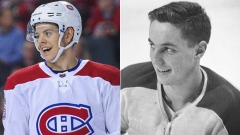 Jesperi Kotkaniemi and Jean Beliveau