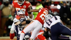 Chiefs' defence collapses in 37-31 OT loss to Patriots Article Image 0