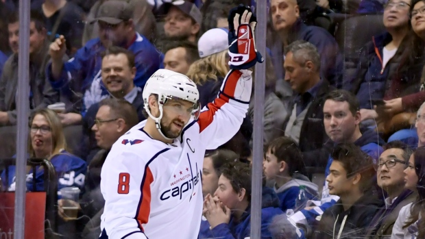 7c778be6c29 Ovechkin ties Fedorov for most points by Russian - TSN.ca