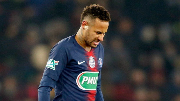 PSG's Neymar unlikely to face Man United
