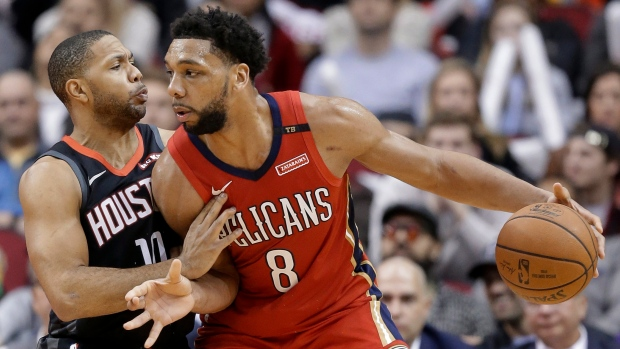 Pelicans pick up team option for Okafor