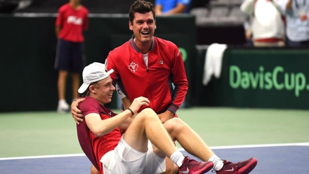 Canada avoids world's top players in opening round of Davis Cup