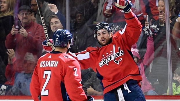 c5cb39745 Capitals edge Flames without Ovechkin to end 7-game skid - TSN.ca