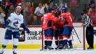 T.J. Oshie, Capitals players celebrate