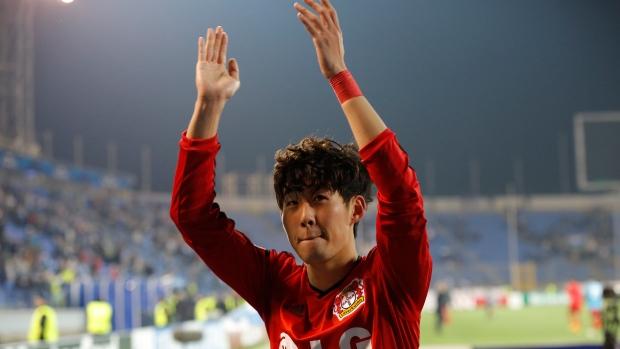 Son Fires Bayer Leverkusen To Win Over Zenit St