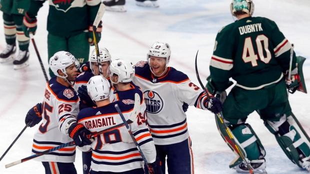 2c1fce70b46 Oilers stop 6-game skid with win over Wild - TSN.ca