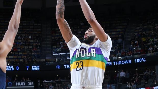 f762c5dd7 Davis scores 32 points in return to lead Pelicans past Wolves - TSN.ca