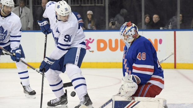 Leafs stymied by Georgiev in road loss to Rangers - TSN.ca 90440eb15