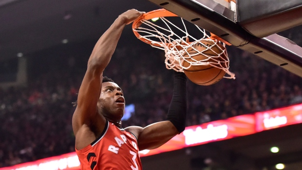 Toronto Raptors' OG Anunoby about one more week from 'ramping it up' - TSN.ca