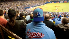 Baseball at Olympic Stadium in Montreal