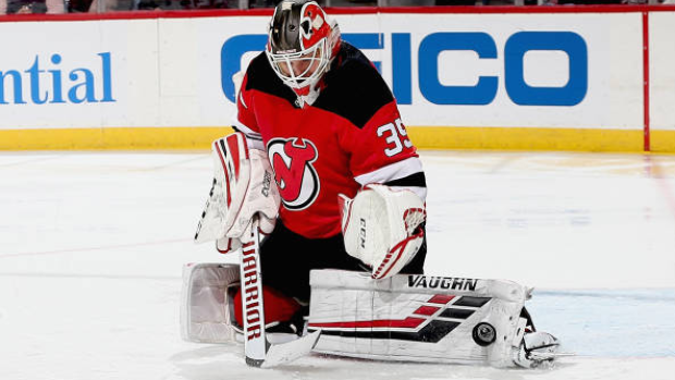 huge discount 7ca02 6f69b Schneider makes 34 saves, wins again as Devils beat Sabres ...